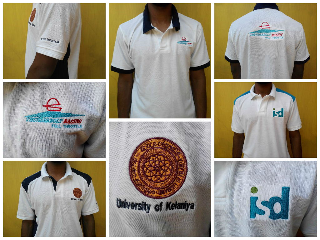 Polo T shirt Embroidery