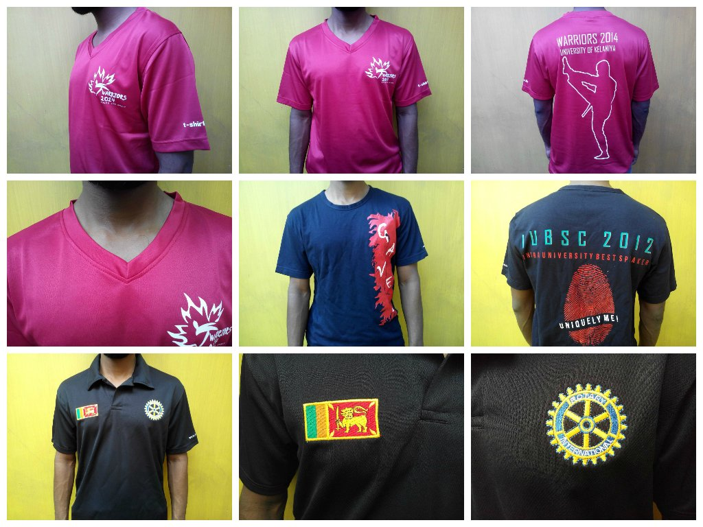 T shirt Screen Print Sri Lanka
