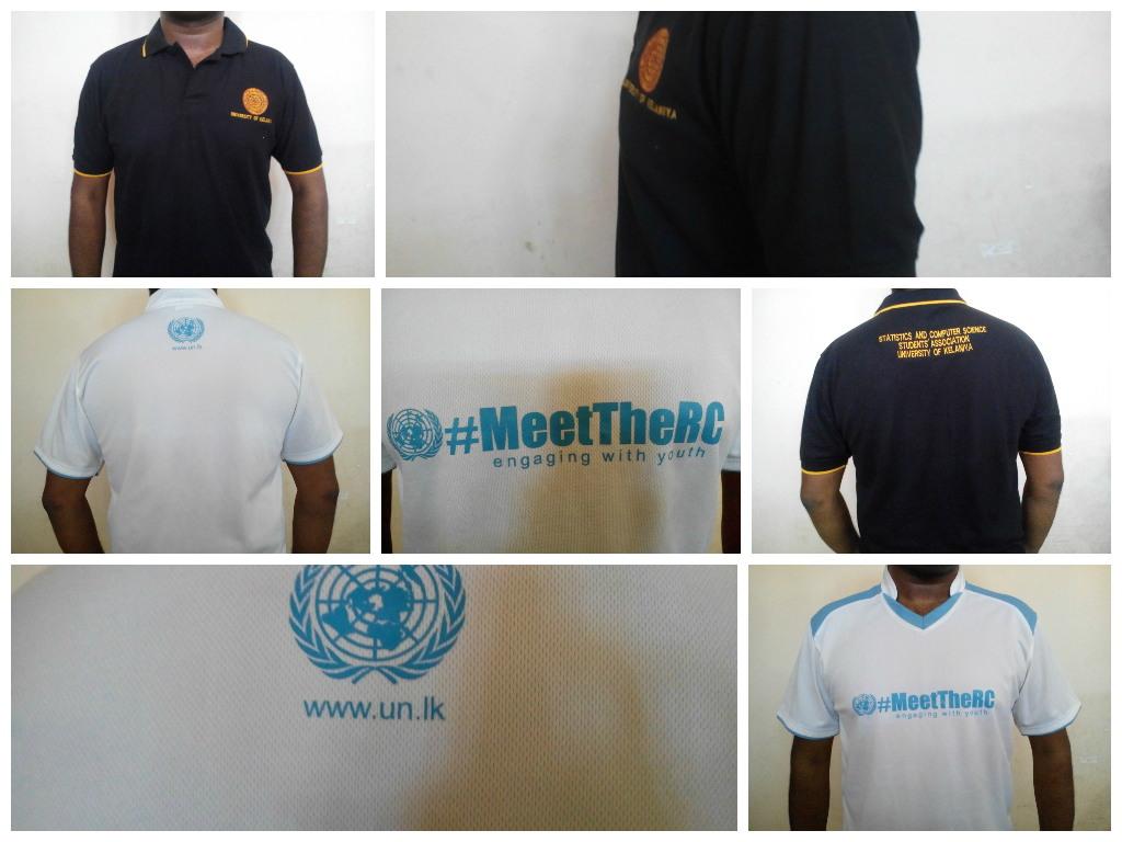 UN sri Lanka T shirt