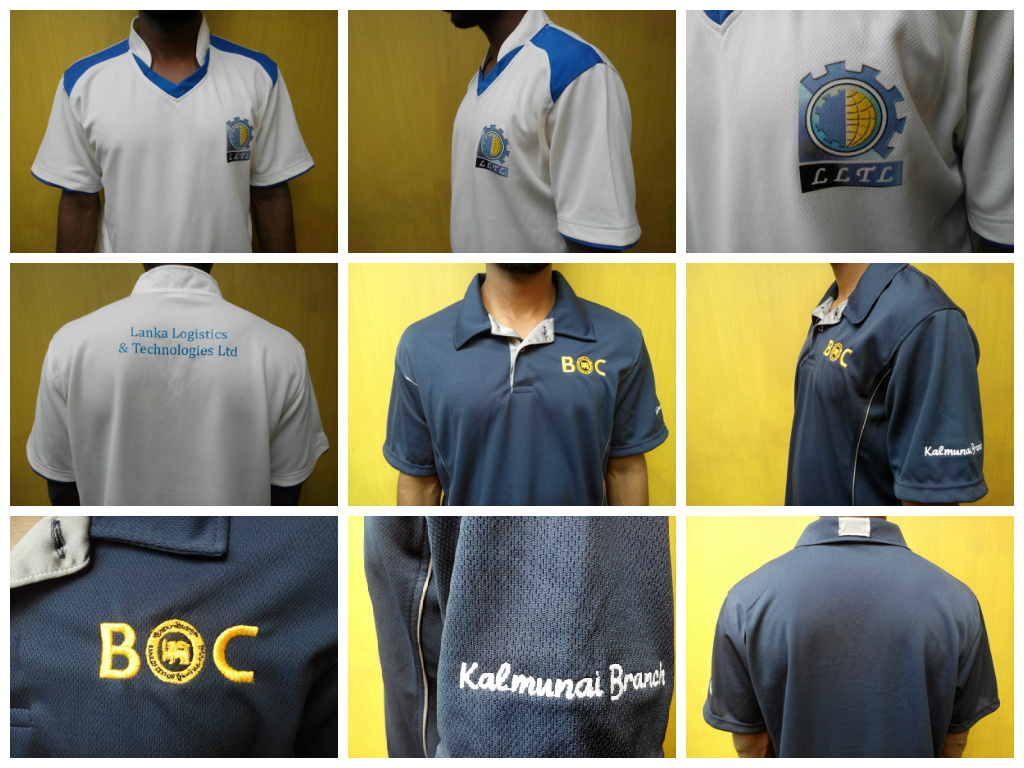 Custom T shirts for Bank and office staff