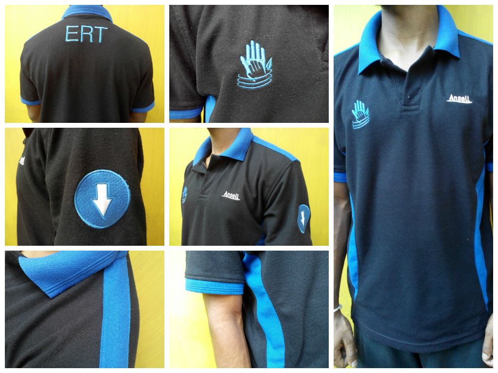 Custom T shirts for factory staff - Sri lanka